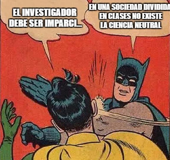 Batman y Robin ciencia