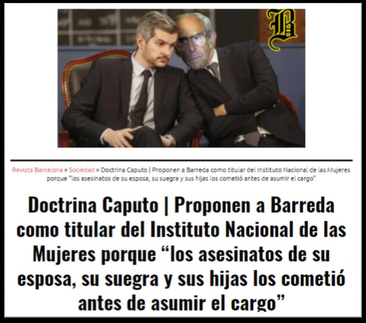 Doctrina Caputo - Barcelona