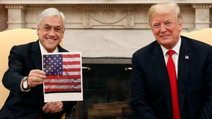Piñera trump