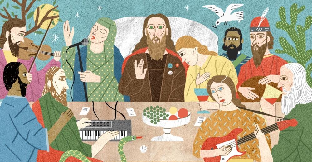 Imagen de Portada - Ilustration de Cristóbal Schmal (Revista The Fader)