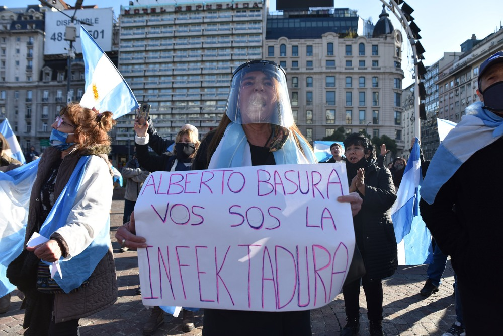 Marcha 9J - Buenos Aires